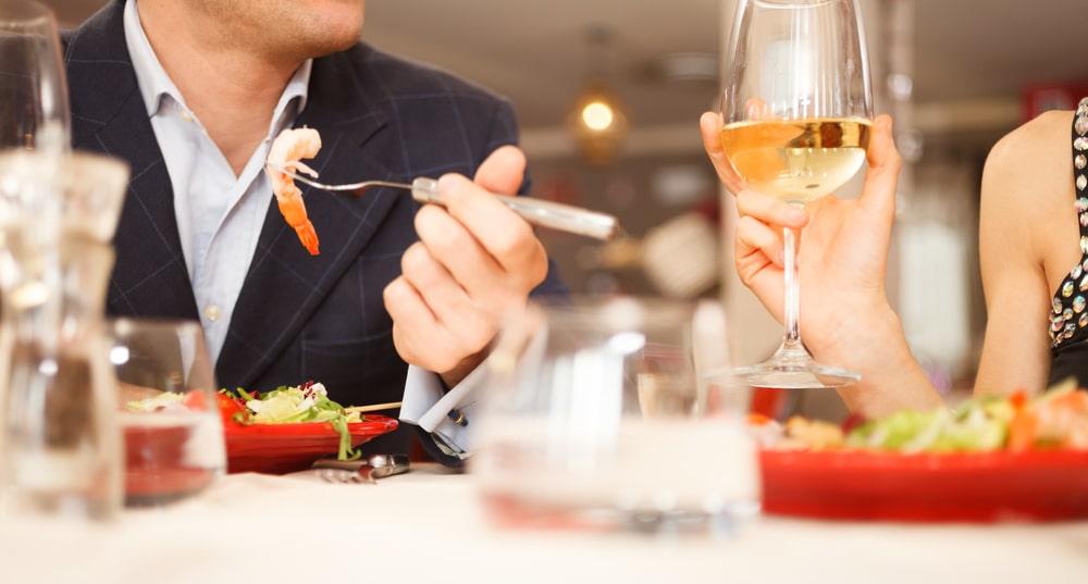 Vin og mad - en oplevelse for to