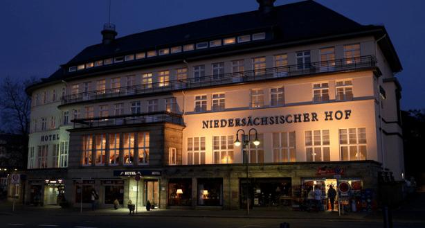 Niedersächsischer hotellet udefra.