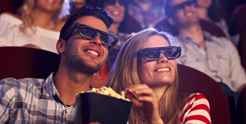 Oplevelser for to i biografen