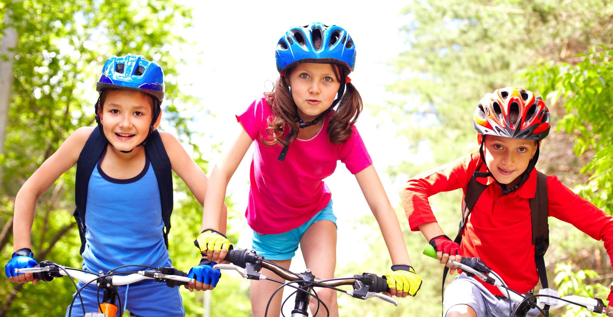 Cykelhjelm test til børn