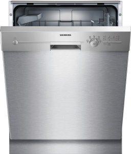 Opvaskemaskine i rustfrit stålSiemens SR46M580SK