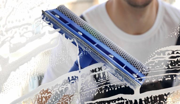 Vinduesvasker test 2019 → Rene vinduer m. ny vinduesvasker