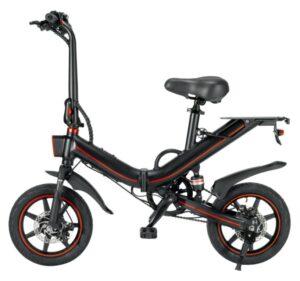 Moveit Black – Sammenklappelig elcykel til en skarp pris