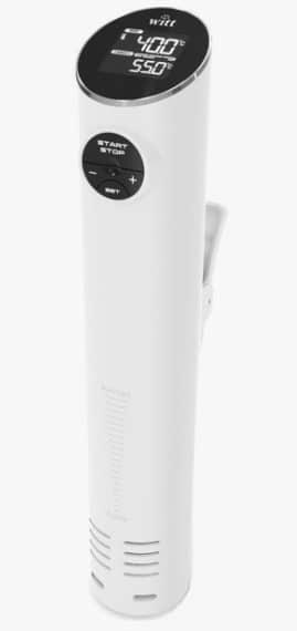 Witt Smart SousVide – Kraftig SousVide med Wi-Fi i en moderne hvid farve