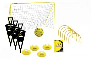 Kickmaster Ultimate Fodbold Pakke fodboldmål