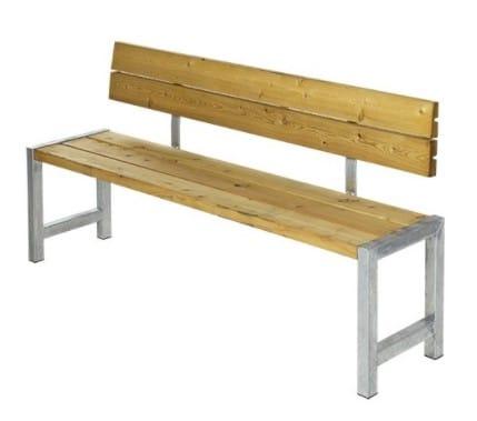 Plus Plankebænk med Ryglæn – populær model hos Homeshop.dk