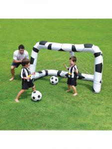 Bestway Oppustelig fodboldmål