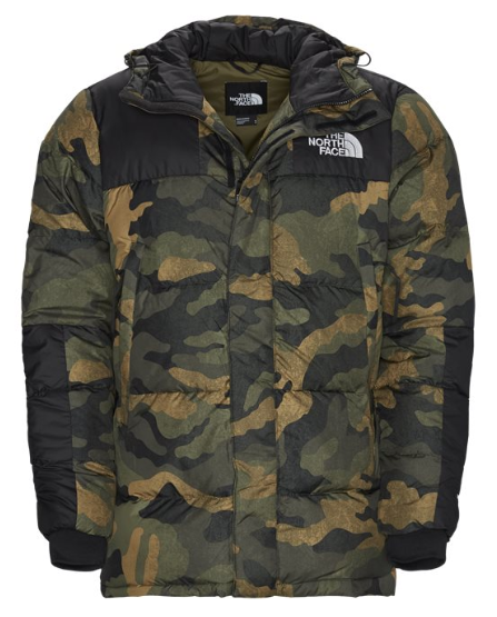 North Face Regular Deepford Down vinterjakke herre – moderne, varm og fluffy