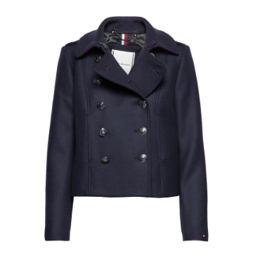 Tommy Hilfiger Belle Wool Blend DB Utility JKT