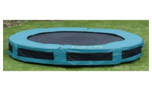 Jumpking Inground Ø430 trampolin med ekstra stærk ramme