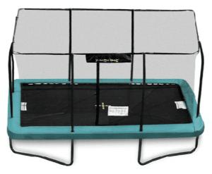 Jumpking trampolin 3,66x2,44 m i EuroSpring design