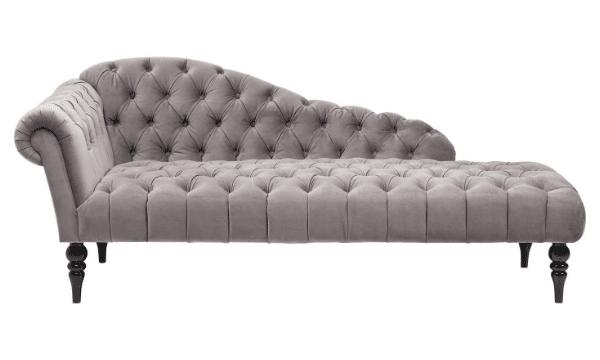 KARE DESIGN Recamiere Desire sofabaenk - solv flojl, m. ryg/armlaen