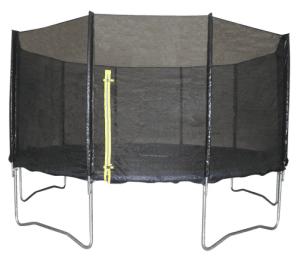 Max Ranger Ø457 cm trampolin med høj sikkerhed