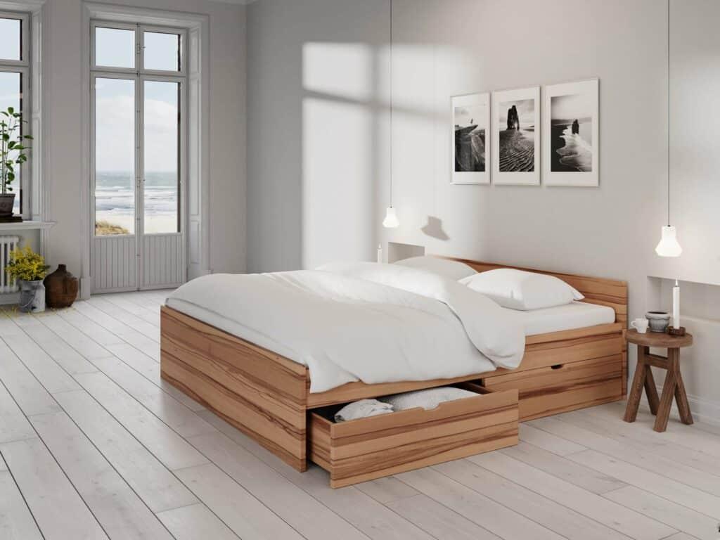 Mesina seng med opbevaring - Kernebøg