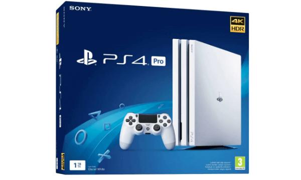 Playstation 4 1TB Pro White Hardware