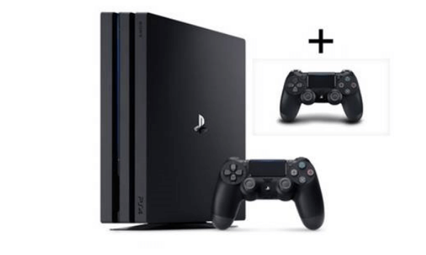 Sony Playstation 4 Pro incl. additional DUALSHOCK 4 controller