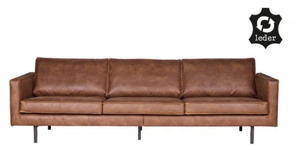Rodeo 3-personers sofa i økologisk læder