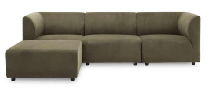 Divani 3-personers sofa inkl. puf