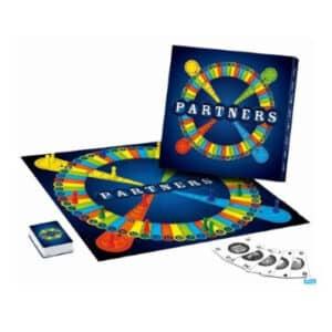 Partners sjovt brætspil for hele familien
